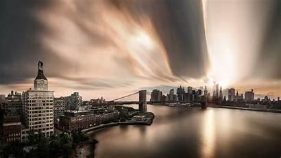 Desktop Screen 1080p Afternoon Manhattan Wallpapers Humid