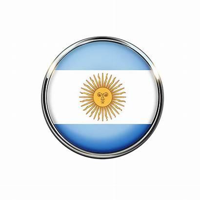 Argentina Bandera Circulo Flag Pixabay Mochileros Argentinian