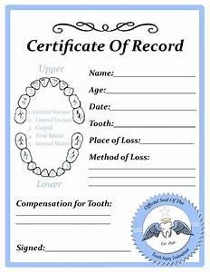 tooth fairy certificate kid stuff pinterest With free printable tooth fairy certificate template