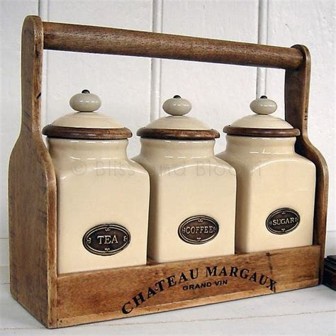 fashioned kitchen canisters canisters with flour and sugar on jars