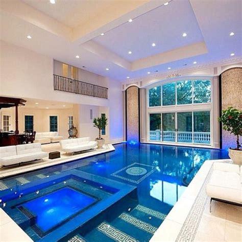 Extravagantlifeinc Indoor Pool Inside A Mansion Located