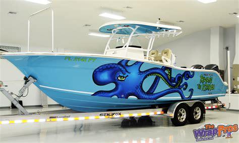Kraken Boat Graphics by Release The Kraken Boat Bb Graphics The Wrap Pros