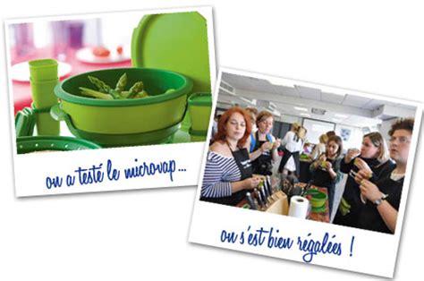 atelier cuisine tupperware un atelier chez tupperware recette de cuisine mademoiselle cuisine recettes astuces actu