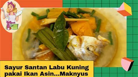 Tambahkan nangka muda dan kacang panjang. Resep SAYUR SANTAN LABU KUNING || Pakai Ikan Asin dan Kacang Panjang - YouTube