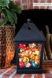 Perfect Christmas Lantern Decoration Idea