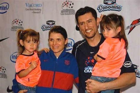 Mia Hamm and Family