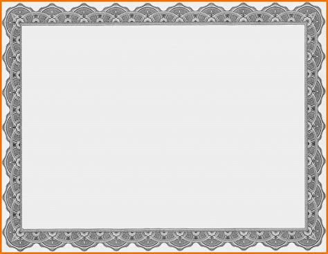 Borders For Certificates Templates by Certificate Border Template Microsoft