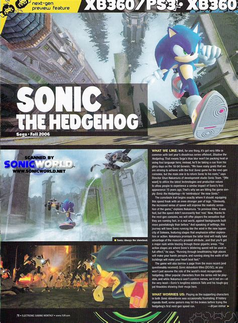 sonic world game info archive sonic  hedgehog