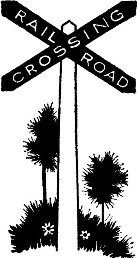 vintage railroad sign image  graphics fairy