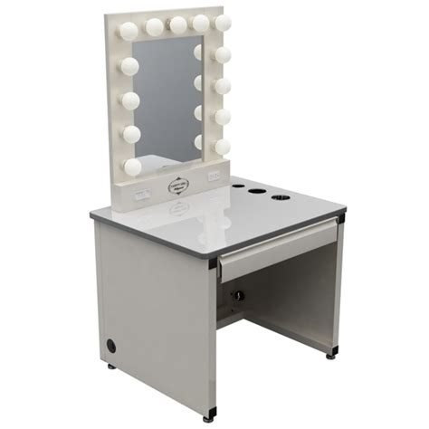broadway lighted vanity makeup desk furniture