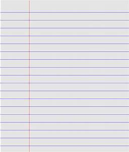 Best Photos of Printable Sheet Of Lined Paper - Free ...