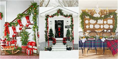 diy christmas garland decorating ideas style