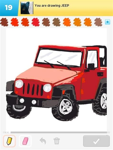 jeep front drawing jeep drawings how to draw jeep in draw something the
