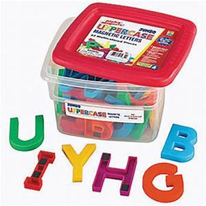 jumbo alphabet uppercase magnetic letters With jumbo magnetic letters and numbers