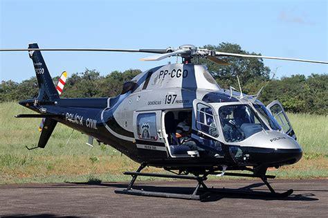 Cai Helicóptero Da Policia Civil De Goiás