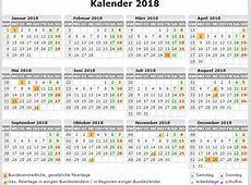 Kalender 2018 zum ausdrucken 4 2019 2018 Calendar