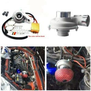 electric supercharger thrust turbocharger air filter intake fuel saver for car 6574970702416 ebay