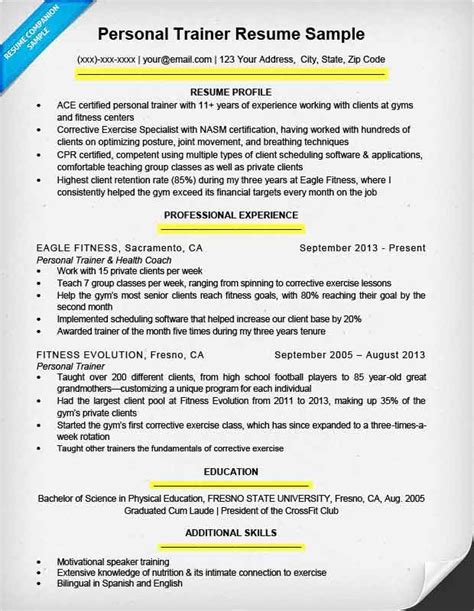 write  resume resume companion