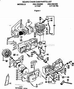 Craftsman 358356090 Parts List And Diagram