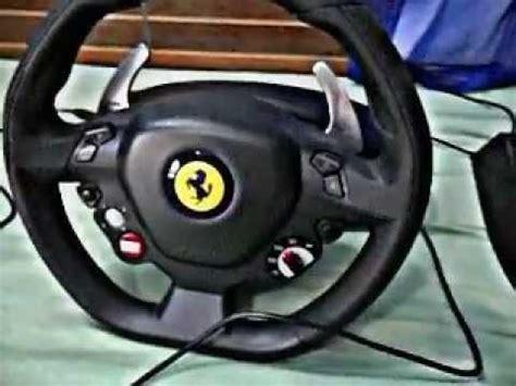 volante 458 italia mostrando volante 458 italia thrustmaster by