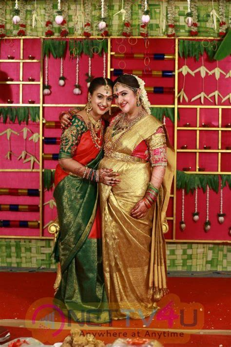 rahul sridevi seemantham function beauteous colourful