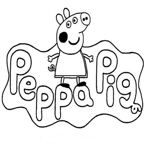 disegno da stare peppa pig peppa pig da colorare pdf pagine da colorare e