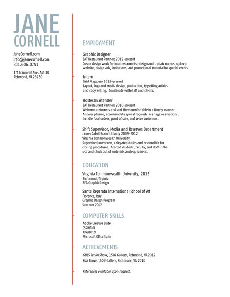graphic designer supervisor resume sle resumes design