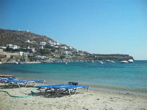 Ornos Beach Picture Of Anixi Hotel Mykonos Ornos