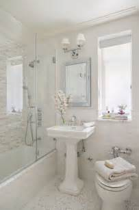 small white bathroom decorating ideas 20 bathrooms with pedestal sinks messagenote