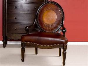 Austin Leather Parlor Chair Texas Western Style Furniture