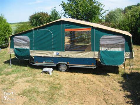 toile de tente 4 chambres remorque tente pliante raclet 123 remorque