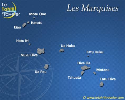 les iles marquises carte info iles marquises carte
