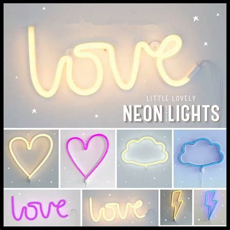 Led Lights For Room Words by Led Neon Sign Lightning Cloud Moon Neon Light