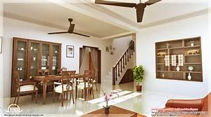 Kerala style home interior designs - Kerala home design