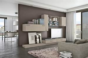 Living room bookshelves tv cabinets 4 interior design for Modern cabinets for living room