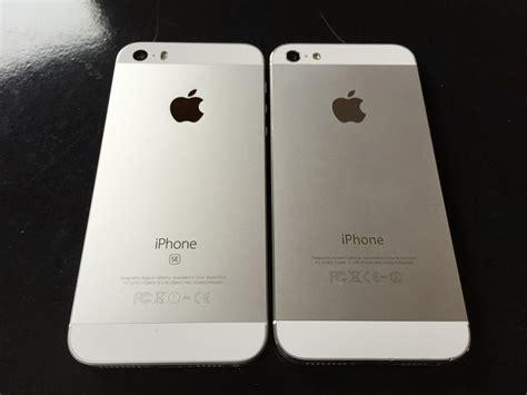 iphone 5 se iphone seとiphone 5の外観の違いについて詳しく比較してみた smco memory