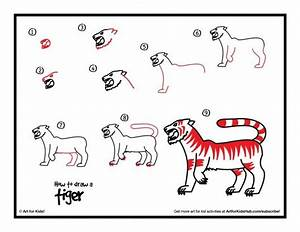 How To Draw A Tiger - Art For Kids Hub