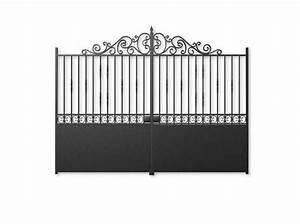 Portail En Fer Lapeyre : un portail pour tous les styles elle d coration ~ Premium-room.com Idées de Décoration