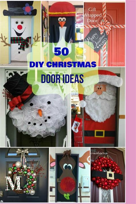 unique office christmas door decorating ideas
