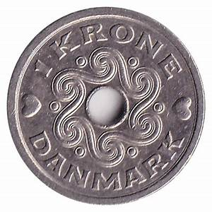 1 Danish Krone coin - Exchange yours for cash today