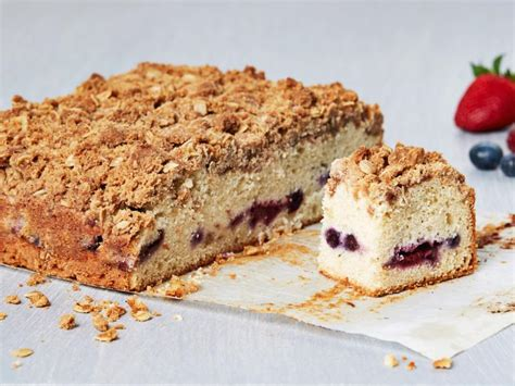 But this coffee cake recipe has berries so that makes it easy to do so with this recipe. Mixed Berry Coffee Cake Recipe   Food Network Kitchen   Food Network