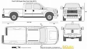 the blueprintscom vector drawing ford f 250 super With 1960 ford f250 4x4