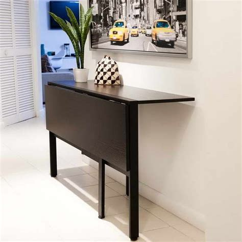 Ikea Tisch Zusammenklappbar by Fold Table For Tiny Kitchen 18 Photos Of The