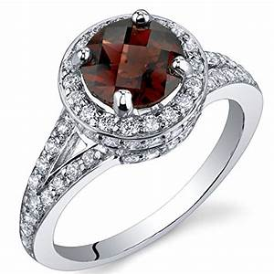 Birthstone for january color meaning and jewelries for Garnet wedding ring meaning