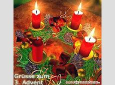 3 Advent Whatsapp Bilder Grüsse Facebook BilderGB