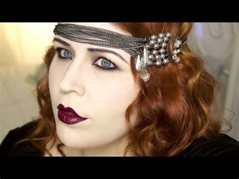 1920's Makeup Tutorial: Great Gatsby Flapper   YouTube