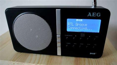 DAB+ Radio AEG DAB 4138 - YouTube