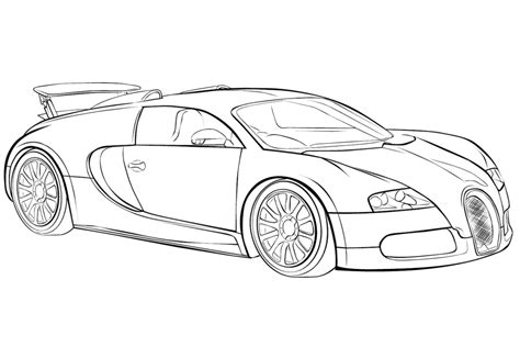 car coloring pages bugatti veyron coloringstar