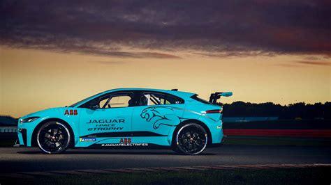 pro racer tests  jaguar  pace etrophy race car