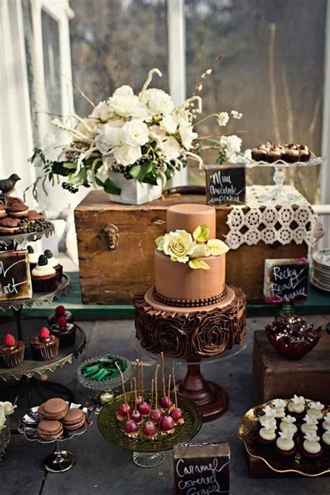 55 Amazing Wedding Dessert Tables & Displays Page 2 Hi